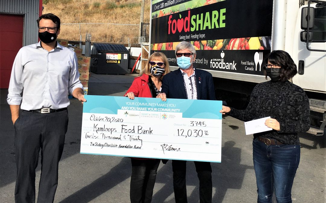 The Stollery Charitable Foundation Fund Grants Funding to Kamloops Food Bank